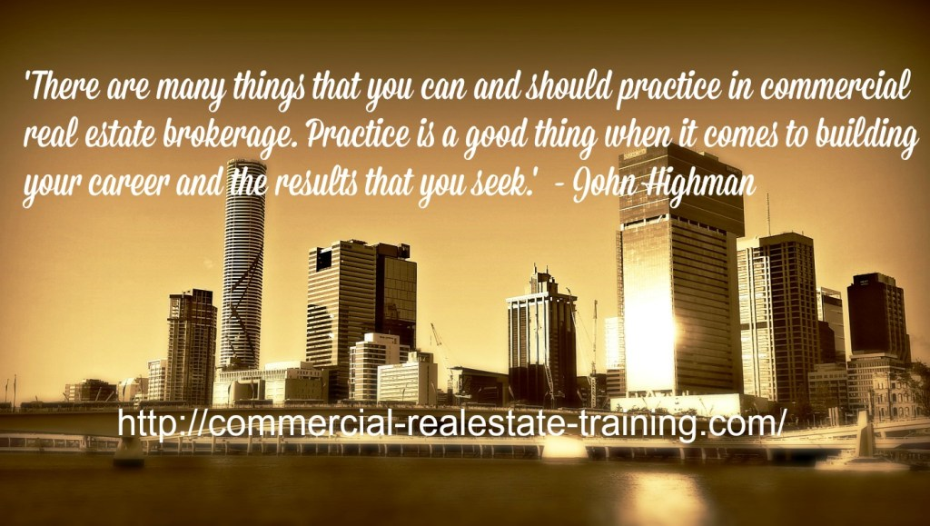 Role play ideas for commercial real estate teams commercial real there are many things that you can and should practice in commercial real estate brokerage some of those things will impact your conversions when it comes malvernweather Image collections
