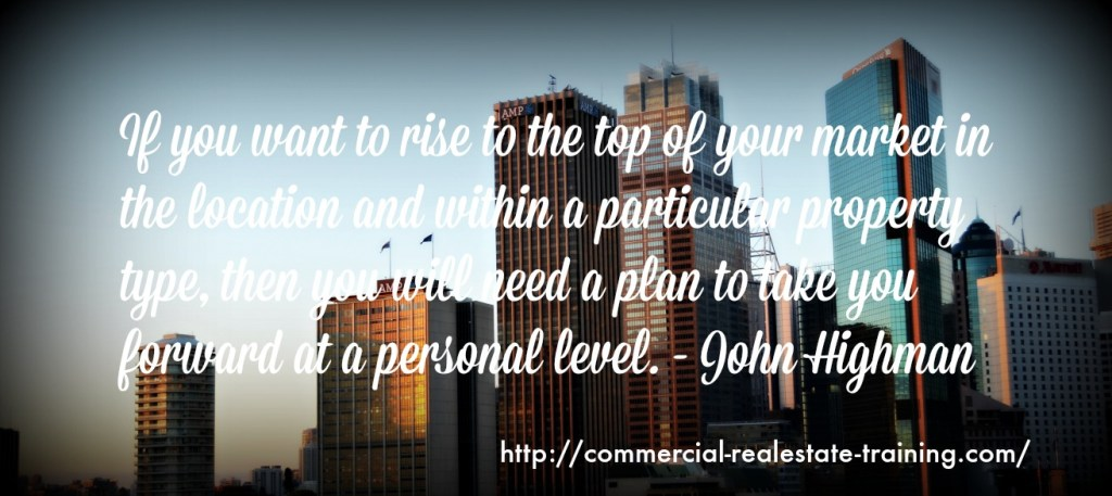 action plan quote in commercial real estate brokerage