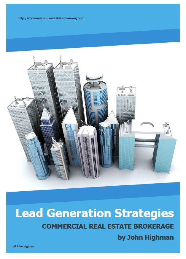 lead generation report in commercial real estate today