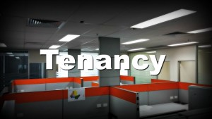 vacant office tenancy