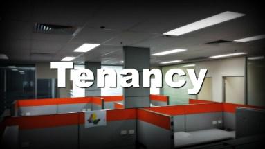 vacant office tenancy