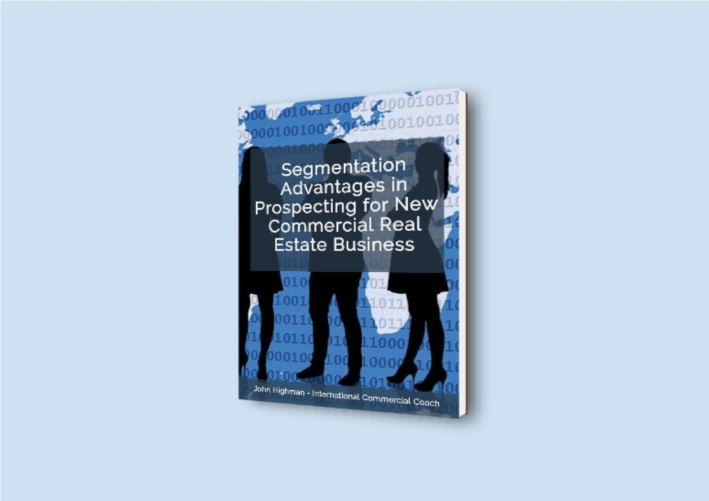 book cover of segmentation report for brokers