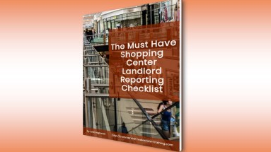 shopping center report ebook