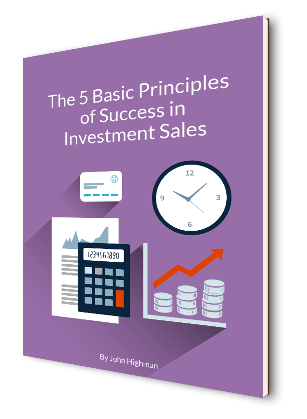 Investment sales book cover