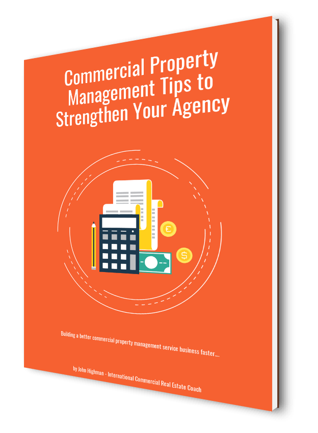 ebook cover on commercial property management services