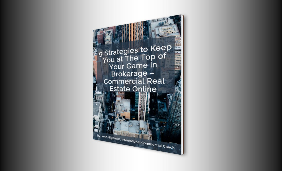 commercial broker report on performance