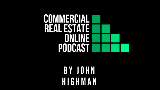 commercial real estate podcast banner