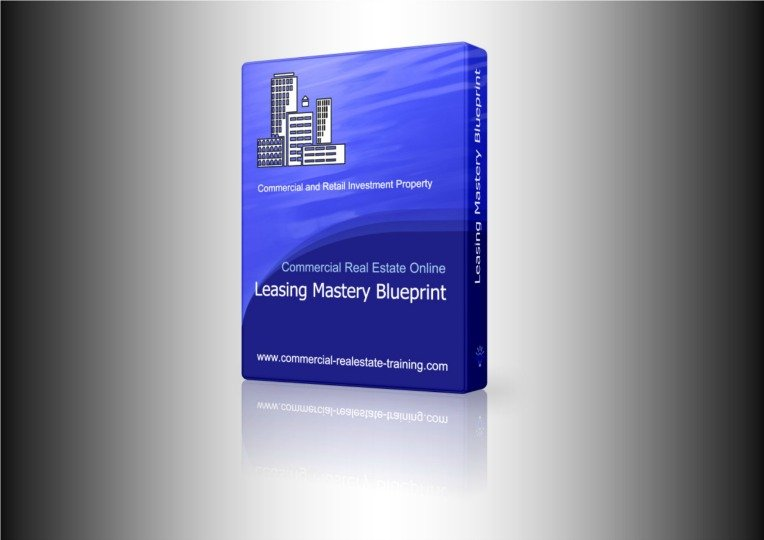 blue box of leasing strategies for brokerage leasing