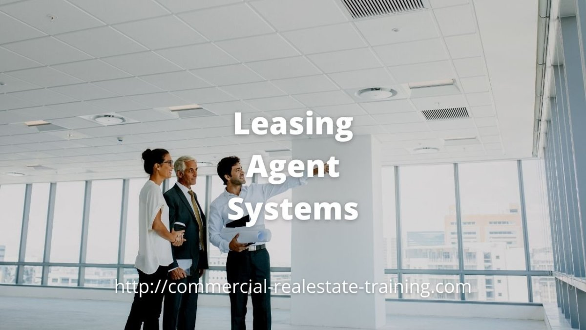 real estate leasing agent in office premises