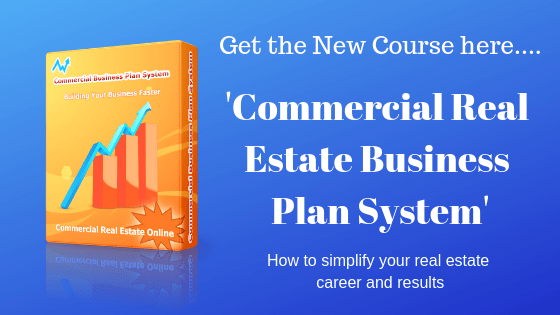 Business plan system in commercial real estate