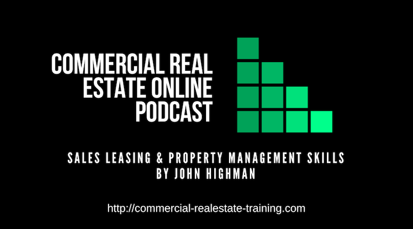 commercial real estate training podcast by John Highman