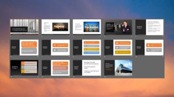 commercial real estate marketing slides