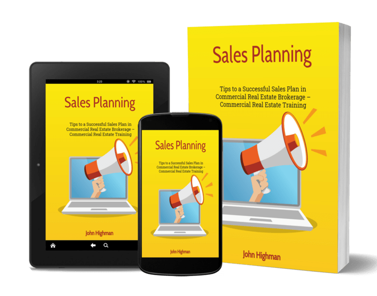 sales planning article in commercial real estate