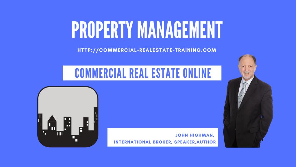 commercial property management skills