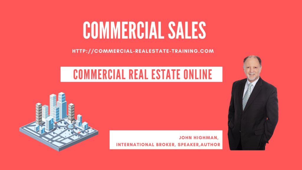 commercial real estate sales ideas by John Highman