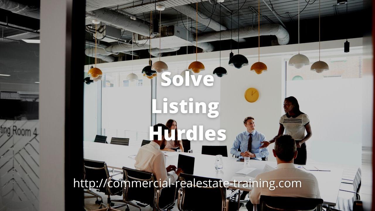 listing presentation in boardroom