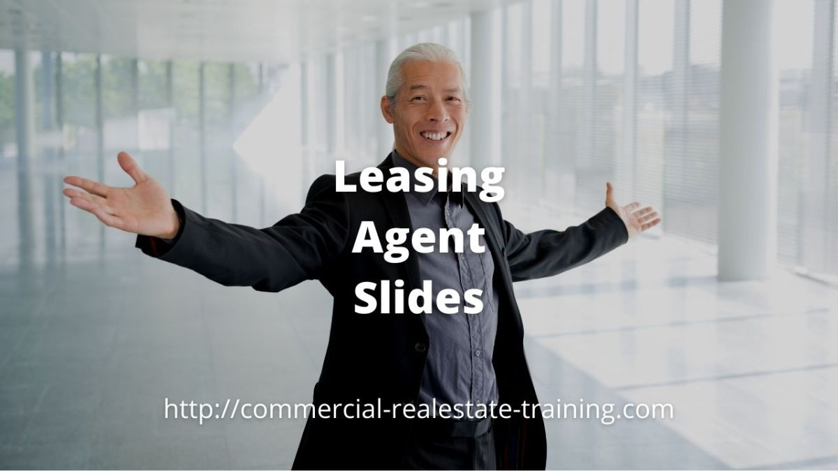 real estate agent standing in open office