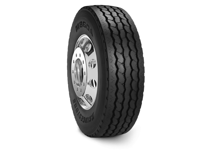 M860A  225 Waste Management Tire  Bridgestone Commercial