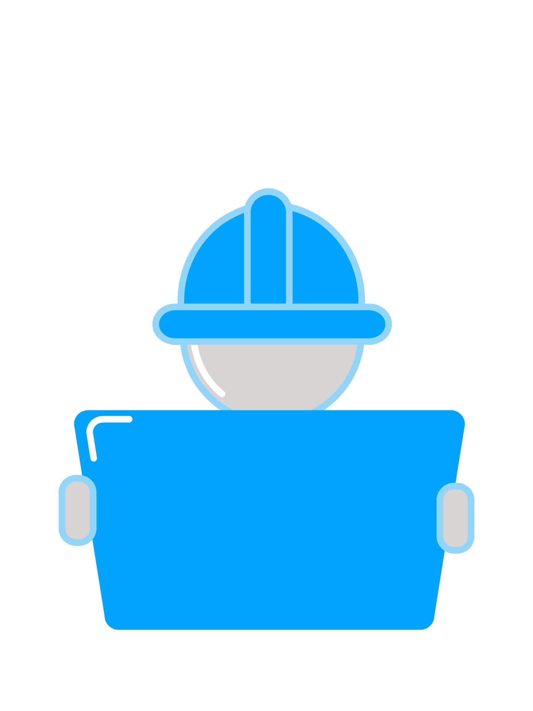 Image of a construction worker to represent germrip construction clean up cleaning services in oklahoma city