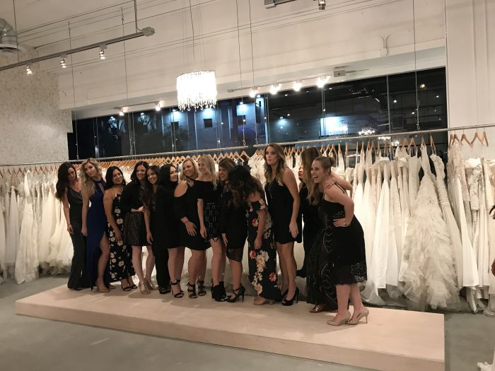 Bridal store completed commercial project