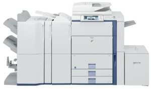 Sharp Copy Machine MX-6200 Review - $17,000