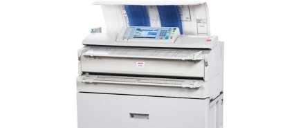 wide format copier
