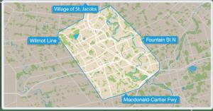 Rideco coverage area