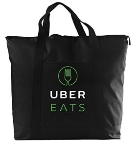 Uber Eats insulated deliver bag for drivers