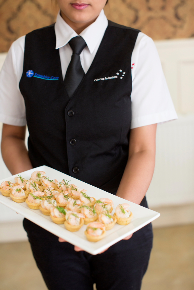 Commercial Photography for catering company