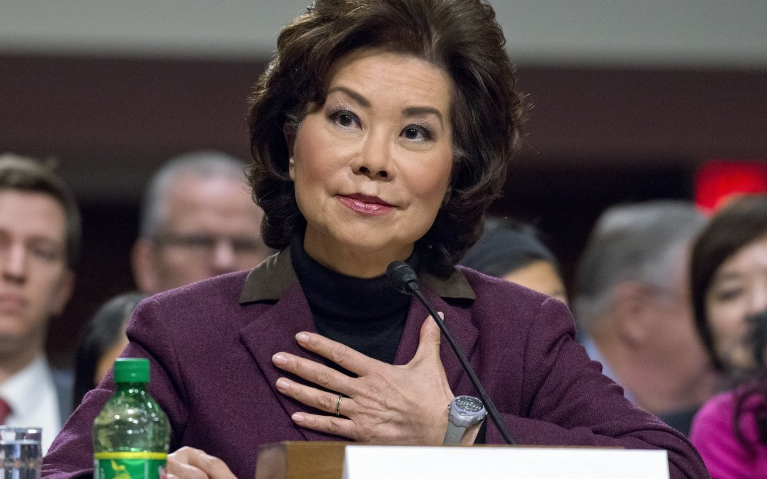 At Elaine Chao Hearing, Smiles and Laughter in an Otherwise Tense Washington