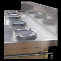 Prep Tables For Kitchen Corner Hutch Stainless Steel High Pressure Gas Burner Wok, Cookers ...