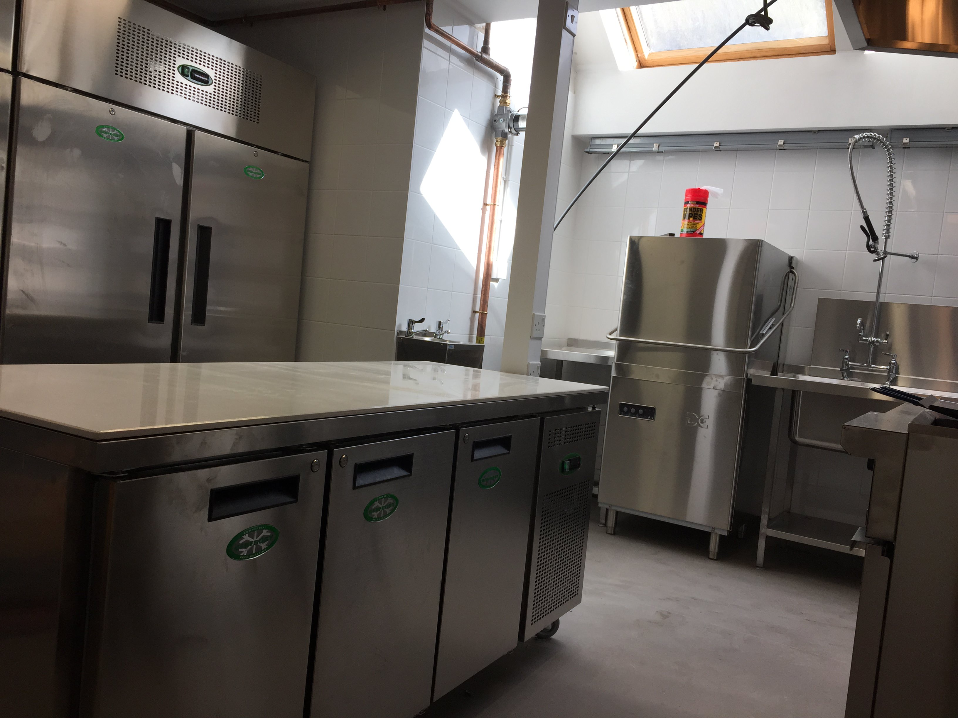kitchen equipment repair design new layout catering caterfix uk southampton hampshire