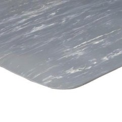 Heated Office Chair Seafoam Green Marble Foot Rubber Top Anti-fatigue Mat   Apache Smooth Matting