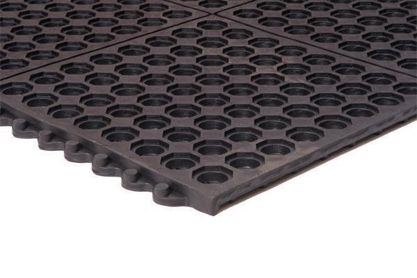 kitchen vinyl floor tiles cost to remodel performa interlocking mat   perforated rubber matting