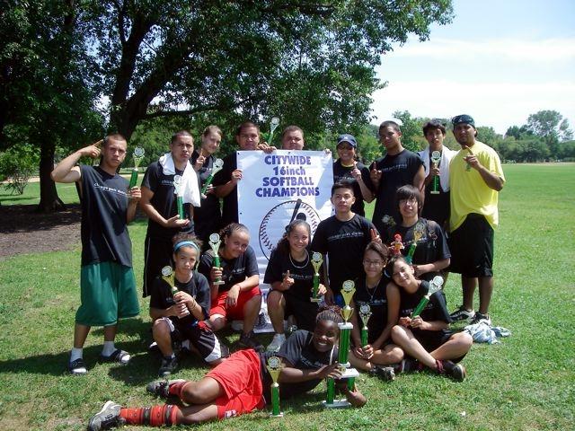 City Wide Co-Rec Softball Champions 2009