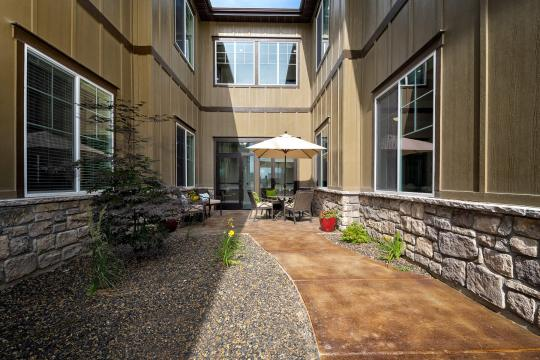Assisted Living Facility Exterior