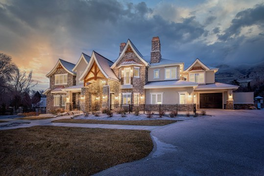 Twilight Exterior- The Grand Assisted Living Center