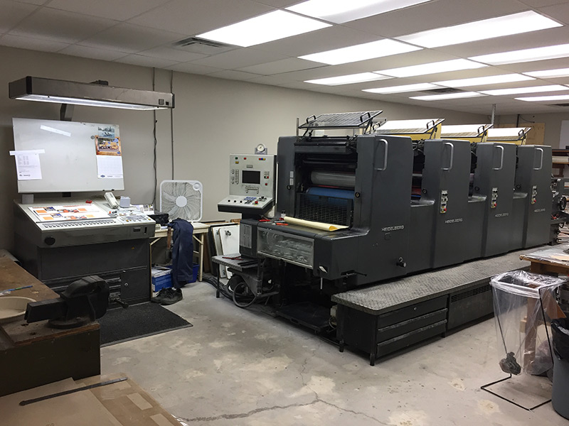 Offset Printing - Commercial Press