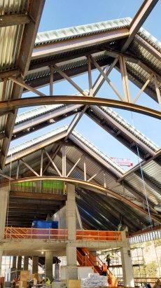 Monarch Casino skylights framing 25696-102745