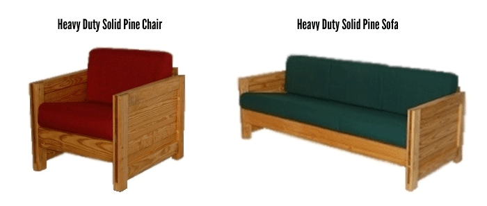 intensive-use-dormitory-furniture-Heavy-Duty-Solid-Pine-Chair-and-Sofa