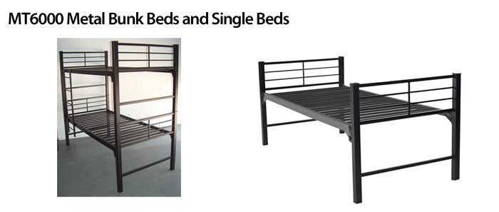 MT6000 Metal Bunk Beds and Single Beds