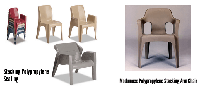 commercial seating chairs knoll executive chair grade heavy duty intensive use stacking polyporpylene