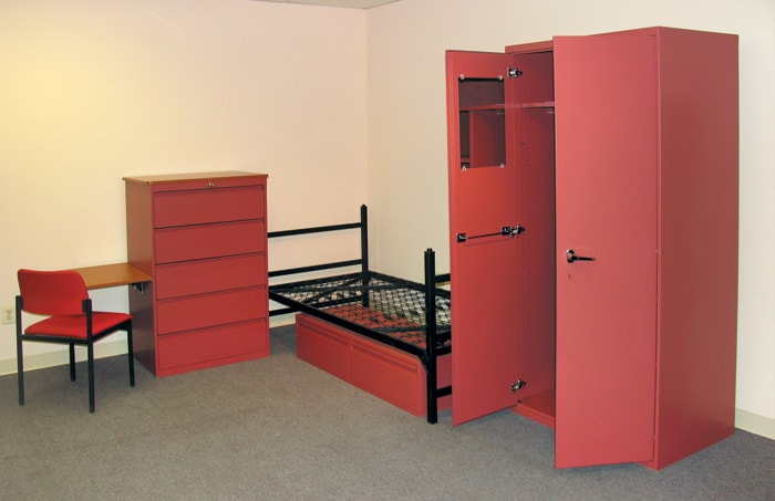Heavy-Duty-Metal-bunkbed-Galaxy Series Residential Heavy Duty Furniture Collection