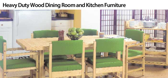Heavy-Duty-Pine-Wood-Dining-Room-Kitchen-Furniture