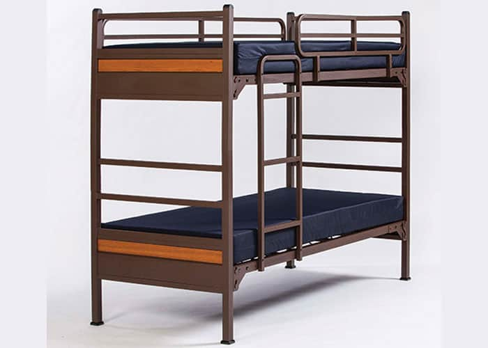 Commercial-Grade-Heavy-Duty-Metal-Bunk-Bed-Gold-Series