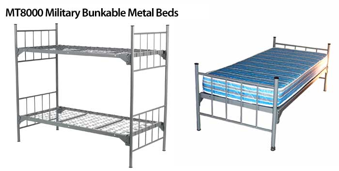 Military Bunkable Heavy Duty Metal Beds