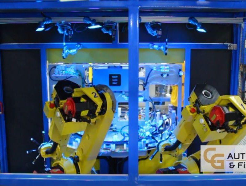 Robotic Rotary Clip Installation