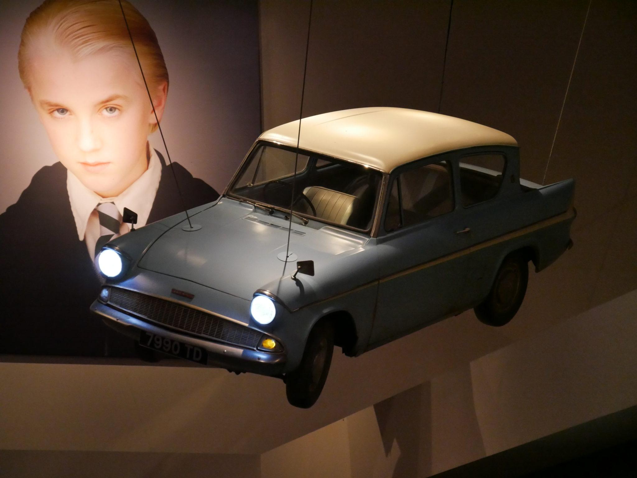 Voiture volante des Weasley