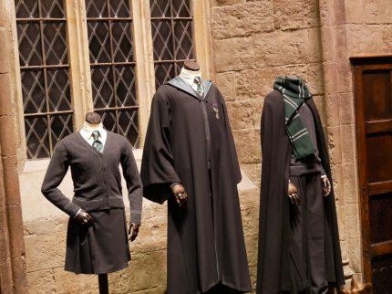 Les costumes de Serpentard