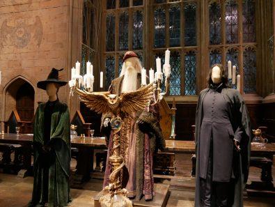 Les costumes de Dumbledore, Mc Gonagall et Rogue
